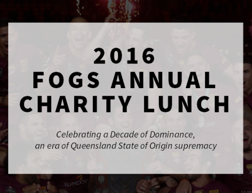 2016 FOGS ANNUAL CHARITY LUNCH