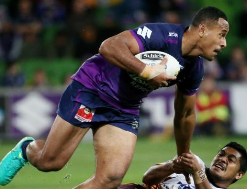 FELISE STORMS INTO THE FRAME FOR KANGAROOS